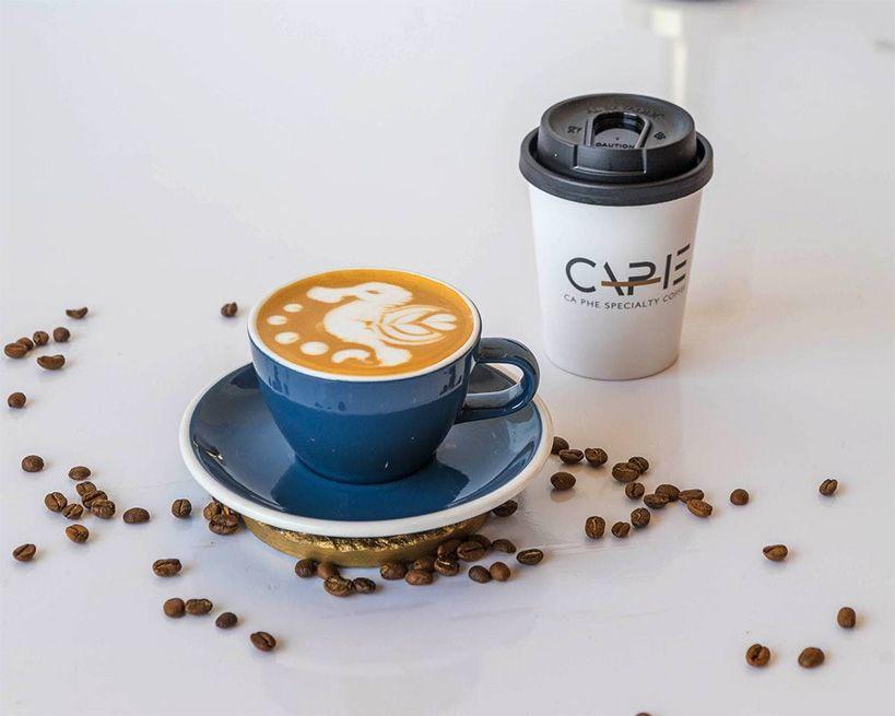 HOT CAPHE SIGNATURE CAPHE COFFEE