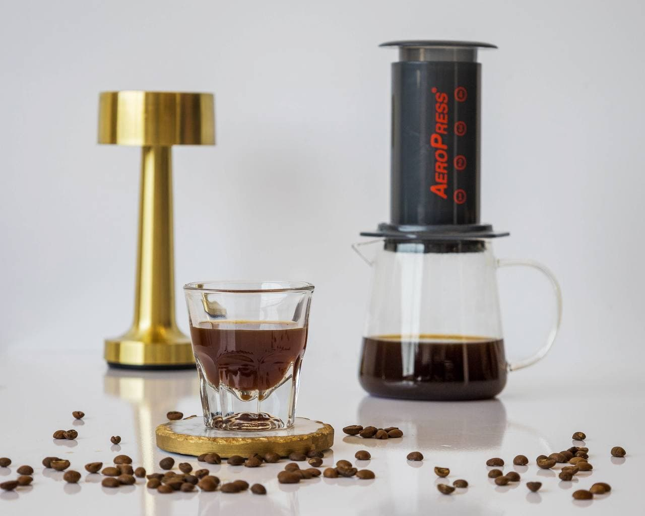 aeropress BLACK MANUAL BREW FILTER COFFEE