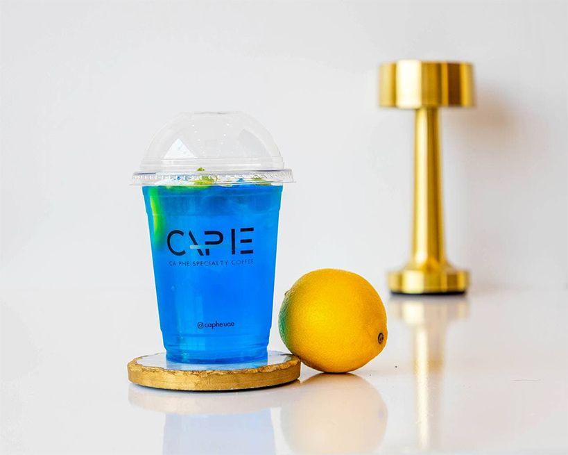 blue summer mojito