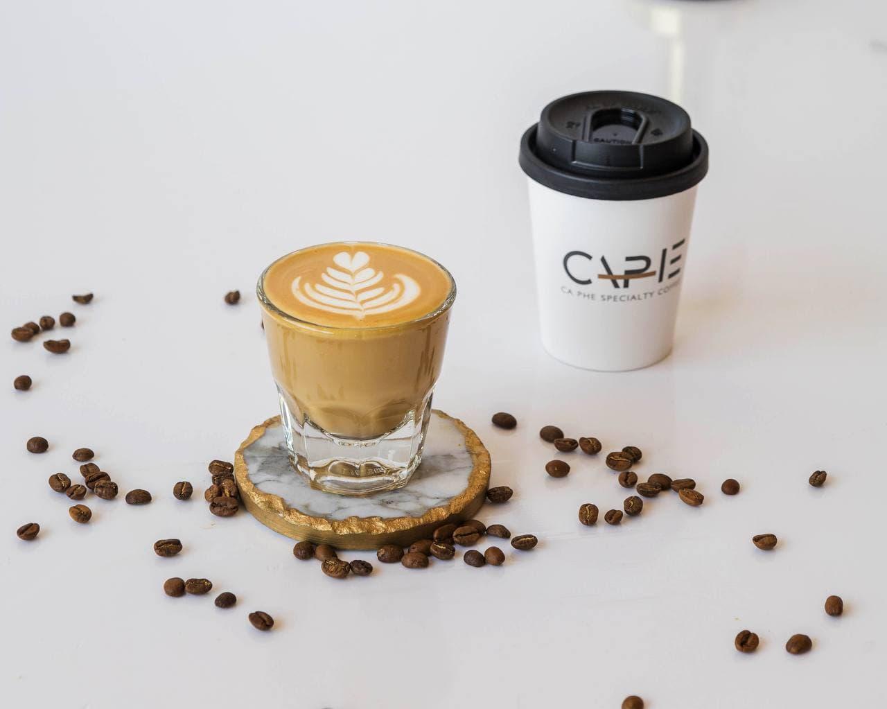 cortado WHITE COFFEE
