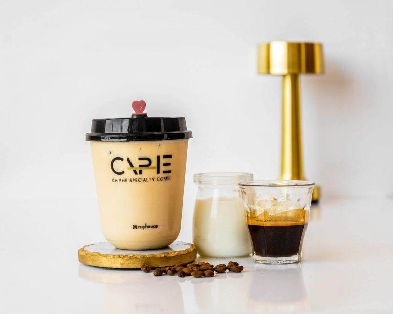 spanish latte CAPHE COFFEE